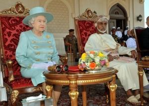 Queen-Elizabeth-II-Majesty-Sultan-Qaboos-bin-LgKwX6mHiQ5l-e1423047721156-300x215
